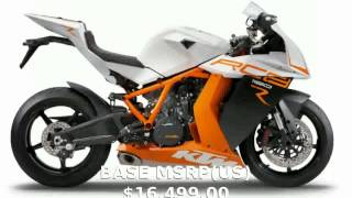 4. 2014 KTM 1190 RC8 R -  Specification Info Dealers motorbike Details Top Speed Engine - tarohan
