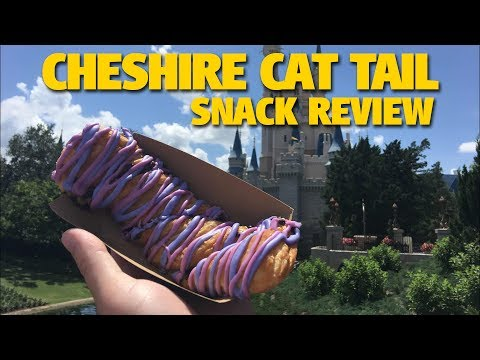 Cheshire Cat Tail Snack Review At Cheshire Cafe | Magic Kingdom