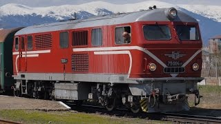 Bansko Bulgaria  city photo : Narrow guage railway from Septemvri to Bansko, Bulgaria
