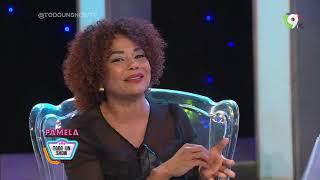 Cheddy García Mamá por Primera vez en Todo Un ShowTV