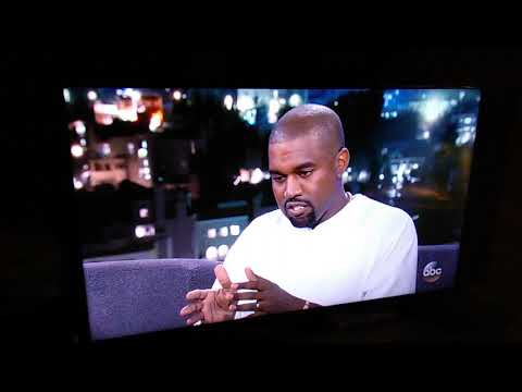Jimmy Kimmel had Kanye lost for word