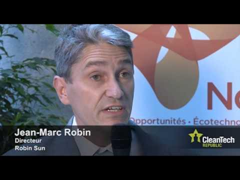 Robin Sun invente le vitrage solaire thermique