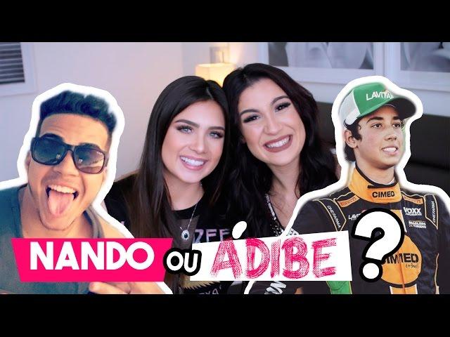 É Nando ou Adibe? ft Flávia Pavanelli - Boca Rosa