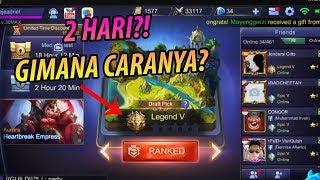 Video TRIK NAIKIN RANK KE LEGEND DALAM 2 HARI! - Mobile Legends Indonesia #27 MP3, 3GP, MP4, WEBM, AVI, FLV Oktober 2017