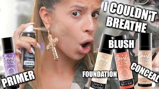 Hey Larlees, todays video is on spray paint makeup. This was some of the weirdest makeup I've tested out, but did it work? Keep watching to find out more! - LauraREVIEW JEFFREE STAR SUMMER CHROME COLLECTION: https://youtu.be/Qlgv_2FaajUSUBSCRIBE TO MY VLOG CHANNEL: https://www.youtube.com/c/LauraLeeVlogsPRODUCTS MENTIONED:spray on makeup - http://bit.ly/2upjfXf*** D I S C O U N T  - C O D E S ***___my vanity: http://bit.ly/29z6ZNxuse code LAURALEE for $$ off!!Morphe Brushes USE CODE LauraLee for 10% off!http://morphebrushes.comJouer cosmetics - code: LAURA15OFF for 15% off! https://www.jouercosmetics.comOfra Cosmetics use code LAURALEE30 for 30% off!! http://bit.ly/2bm3dGbArtis Couture code: LAURALEE for 15% off! http://www.artistcouture.com/MY PALETTE VIOLET VOSS X LAURALEE- code: LAURALEE for 10% off!http://bit.ly/2nrLMIMSOCIAL MEDIA:INSTAGRAM:  LarlarleeSNAPCHAT: Laura88leeFACEBOOK: Laura LeeTWITTER: LAURA88LEEmusical.ly - Laura88leeMy Camera: http://amzn.to/2iKeRMH♡For any business inquiries please email me at: laura88lee@gmail.comFTC- NOT SPONSORED! LOL....