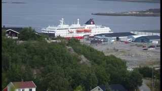 Kirkenes Norway  city photo : Kirkenes Norway Hurtigruten Day 7 in 4K