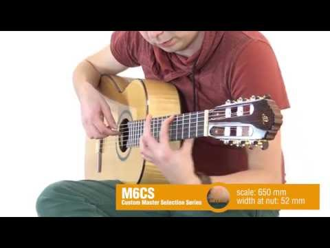 ORTEGA GUITARS | M6CS - Custom Master Selection Series
