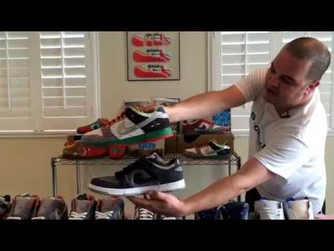 0 A Complete Set of the Nike SB What The Dunk by The ShoeZeum