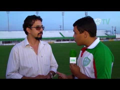 [ALECRIM TV] Bate-papo com Thales Samir, coordenador do Sub-20