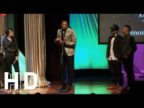 Lecrae's 'Hip Hop/Rap Song of the Year' 2013 Dove Awards Acceptance Speech