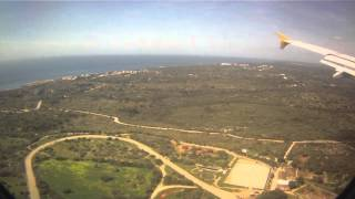 Menorca Spain  City pictures : Landing at Mahón Airport, Menorca, Spain - 3rd April, 2015