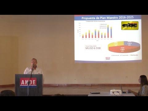 Ande presenta informe sobre obras de infraestructura