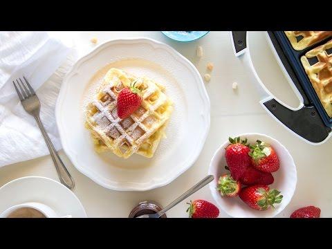 ricetta per fare i waffle - cialde di origine nordeuropea