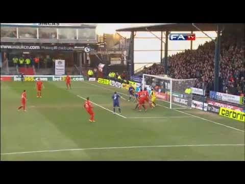Oldham 3-2 Liverpool | Goals And Highlights | The FA Cup 4th Round 2013