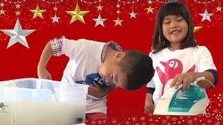 トイレットペーパー 工場見学1 紙の手作り体験 子供とお出かけ family fun Toilet paper factory tour
