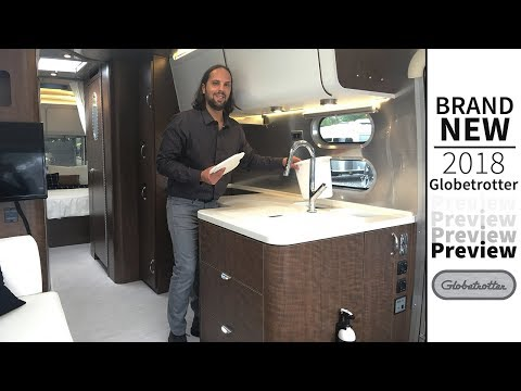 2018 Airstream Globetrotter 27FB Travel Trailer Highlight
