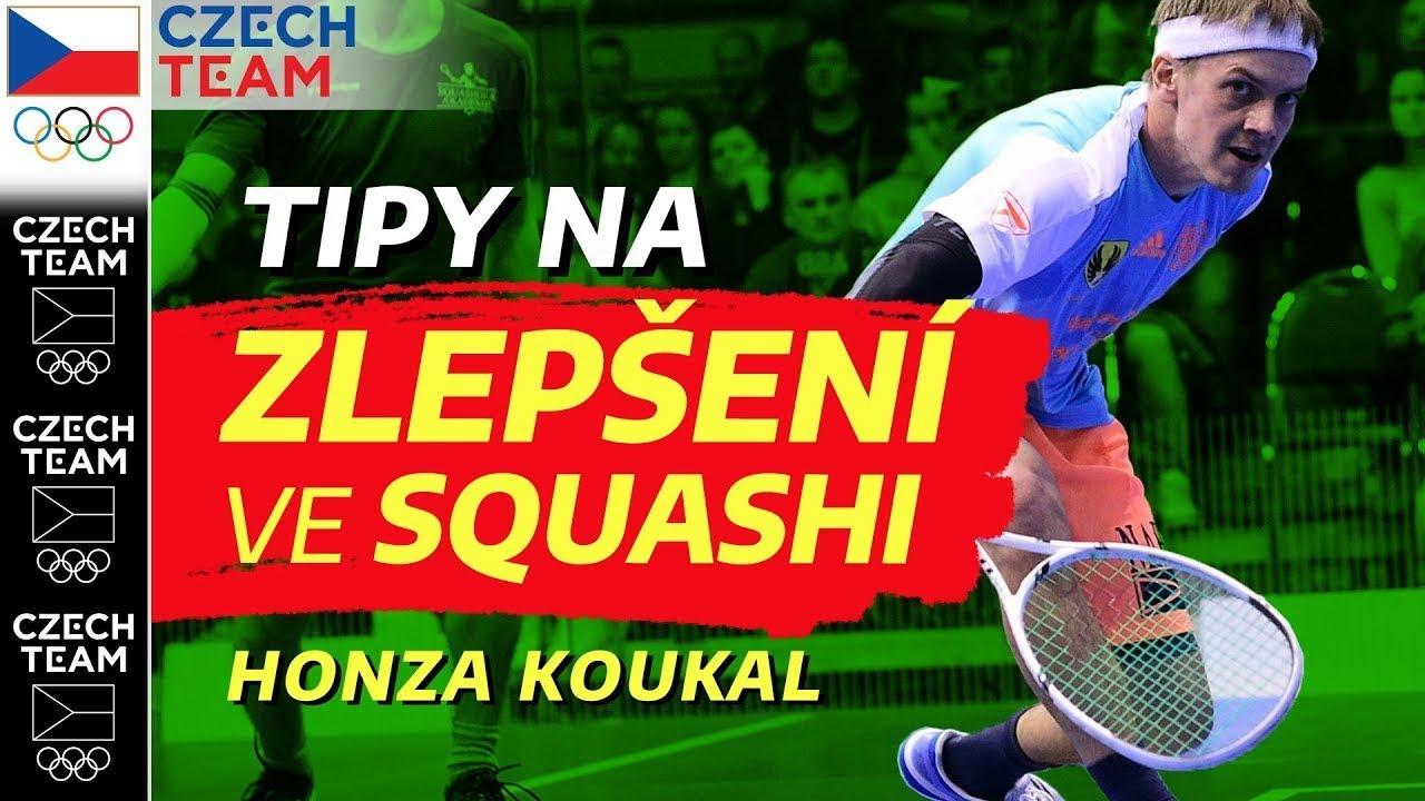 Tipy na zlepšení ve squashi