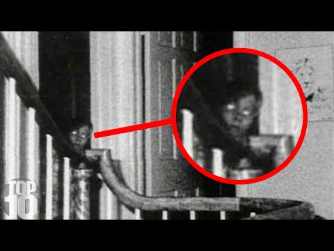 10 Ghosts Caught on Camera