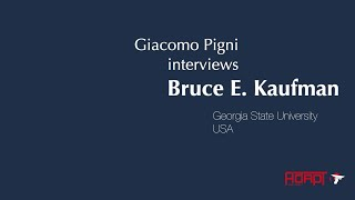 #GTL2019 - Interview with Bruce E. Kaufman