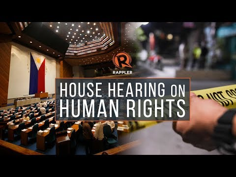 WHAT YOU MISSED: House hearing on human rights