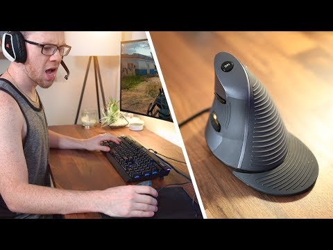 Using A Vertical Mouse For Gaming?