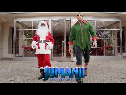 JUMANJI: THE NEXT LEVEL - Santa and The Dwelf