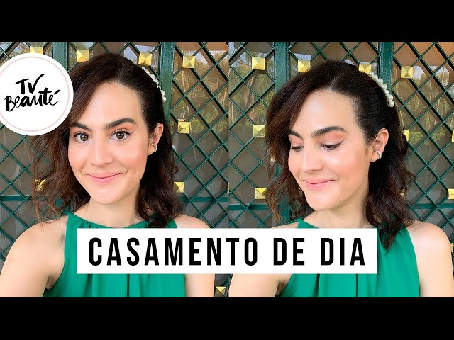 Casamento de Dia (com pele!) - TV Beauté | Vic Ceridono - Victoria Ceridono