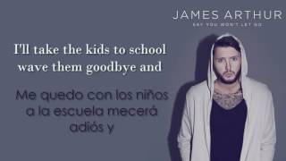 Video James Arthur - Say You Won't Let Go /Lyrics/ En ESPAÑOL MP3, 3GP, MP4, WEBM, AVI, FLV Januari 2018