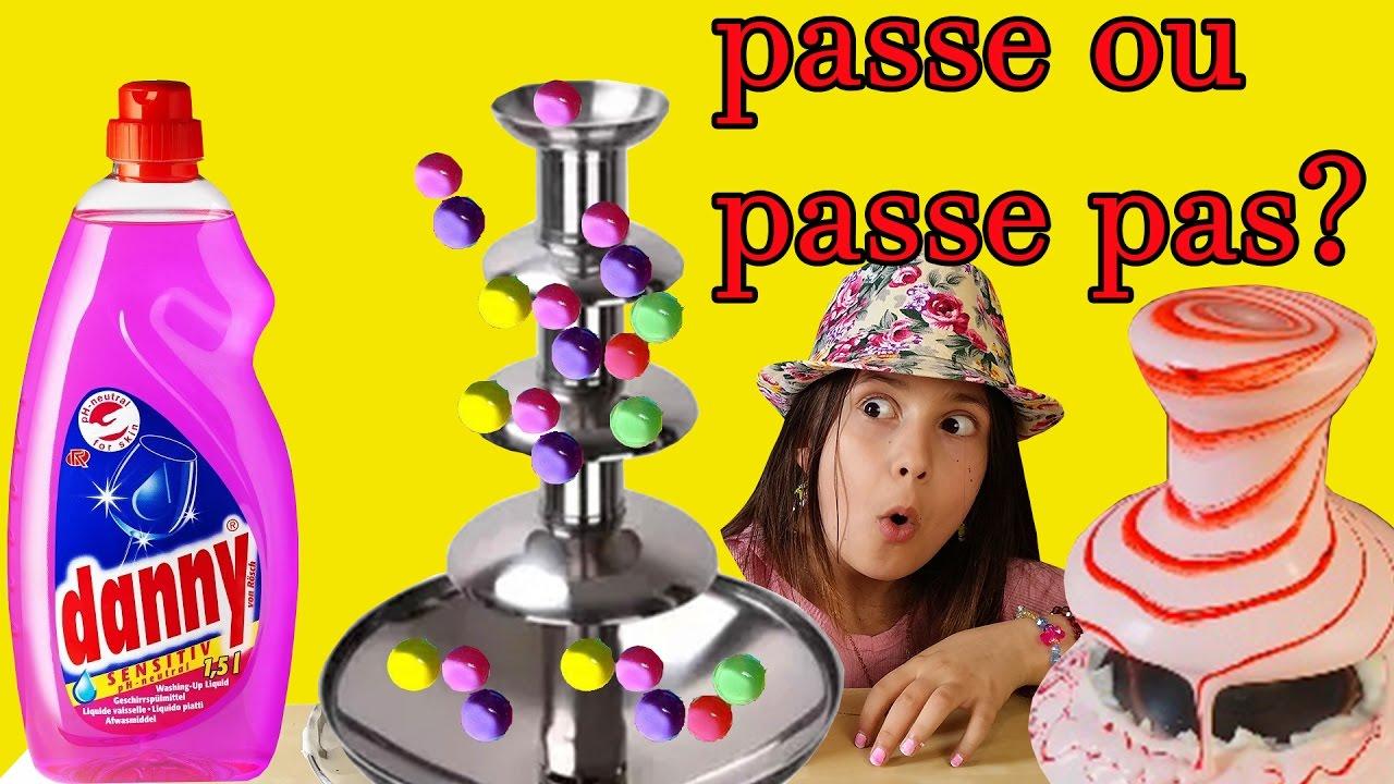 TEST/PASSE OU PASSE PAS? ORBEEZES,SLIME,LIQUIDE VAISSELLE!