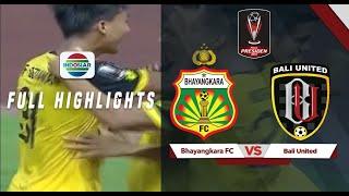 Bhayangkara FC 4 vs 1 Bali United   Full Highlights   Piala Presiden 2019