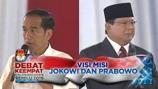 Video Penyampaian VISI MISI JOKOWI & PRABOWO - Debat Capres PART 1 MP3, 3GP, MP4, WEBM, AVI, FLV April 2019
