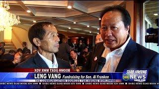 Suab Hmong News:  Leng Vang Fundraising for Senator Al Franken in St. Paul, MN