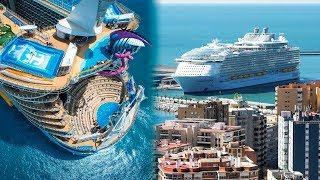 Video THE BIGGEST CRUISE SHIPS In The World MP3, 3GP, MP4, WEBM, AVI, FLV September 2019