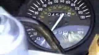10. yzf 600 top speed