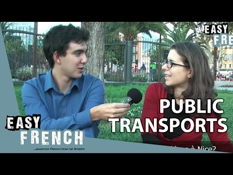 Easy French 8 - Les transports publics
