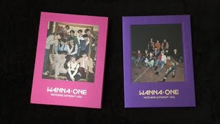 [Unboxing & Reacting] Wanna One - 1-1=0 Nothing Without You (Purple & Wine ver) ⭐️ Prequel Repackage
