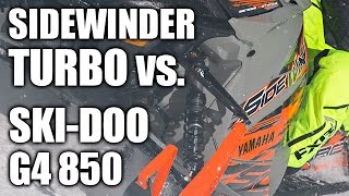8. Yamaha SideWinder Turbo vs. Ski-Doo G4 850