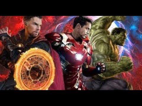 Avengers  Infinity War IRON MAN DR.STRANGE BANNER