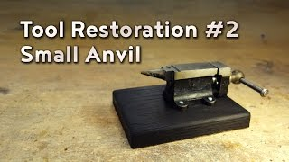 This tiny anvil desperately needed a resurfacing, so follow along in the steps of cleaning up the face of the anvil, and building a base using some traditional Japanes finishing methods. All in seven minutes or less!Follow and like Switch & Lever on:Facebook: https://www.facebook.com/SwitchAndLeverInstagram: http://instagram.com/switchandleverTwitter: https://twitter.com/switchandleverPinterest: http://www.pinterest.com/switchandlever/Linkedin: http://www.linkedin.com/profile/view?id=174927629And check out the Switch & Lever online store at:http://www.switchandlever.com/store/----------------------------------------Music:Cosimo Fogg 201 - Life IsCC BY 3.0