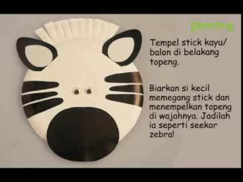 Do It Together: Topeng Zebra