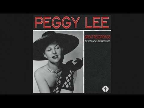 Tekst piosenki Peggy Lee - Baby Don't Be Mad At Me po polsku