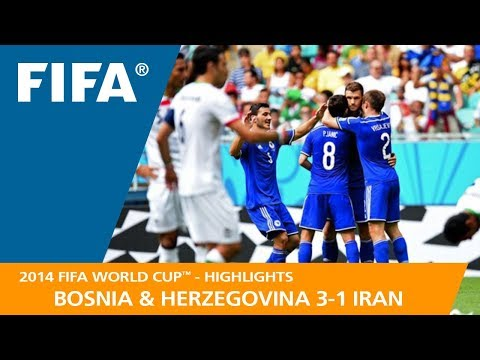 BOSNIA AND HERZEGOVINA v IRAN (3:1) - 2014 FIFA World Cup™ (видео)
