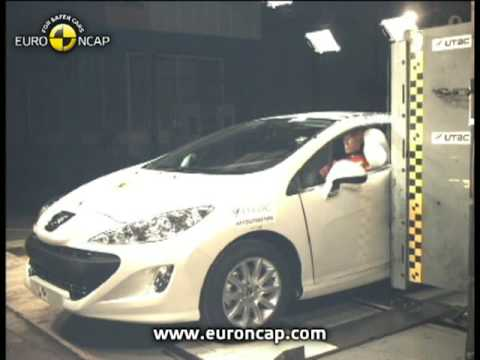 Peugeot  308CC Crash test