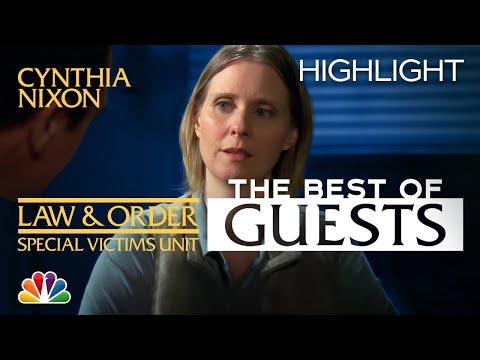 Cynthia Nixon's Emmy-Winning Guest Performance - Law & Order: SVU