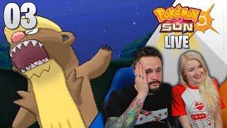 NO MORE MEGAS, PLEASE!   Pokémon Sun LIVE Randomizer Nuzlocke Part 03 by Ace Trainer Liam