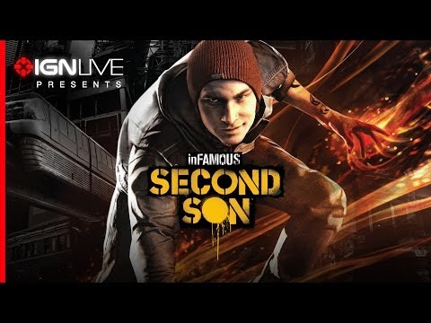 *LIVE* - Sucker Punch is here to show us the highly anticipated third installment in the Infamous series, Infamous: Second Son.