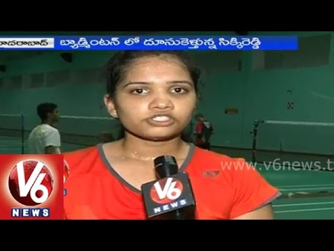 A new badminton player Sikki Reddy from Telangana
