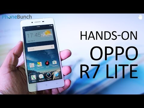 Oppo R7 Lite Hands-on Overview with First Impressions