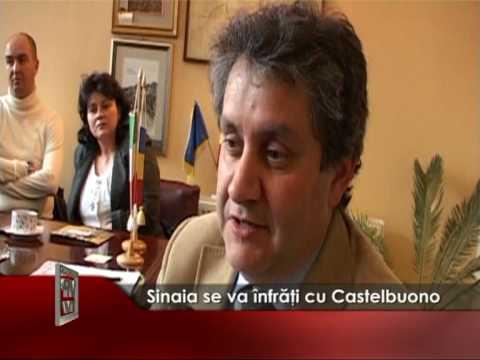 Sinaia se va înfrăţi cu Castelbuono
