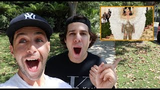 Video REACTING TO MET GALA OUTFITS with David Dobrik and Jason Nash! MP3, 3GP, MP4, WEBM, AVI, FLV Maret 2019